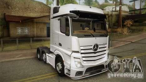 Mercedes-Benz Actros Mp4 6x2 v2.0 Bigspace v2 для GTA San Andreas