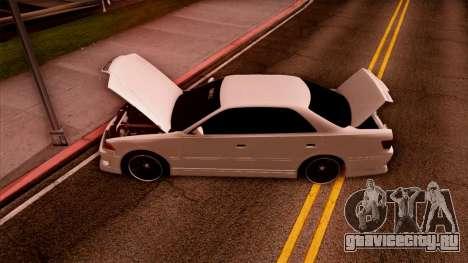 Toyota Mark II для GTA San Andreas вид сбоку