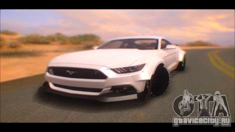 Ford Mustang 2015 Liberty Walk LP Performance для GTA San Andreas