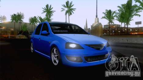 Dacia Logan Cocalar Edition для GTA San Andreas