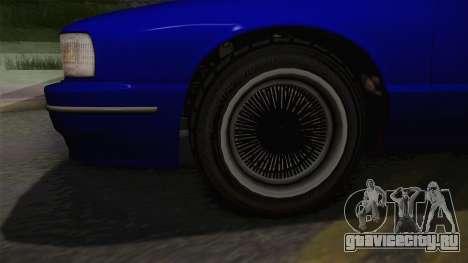 Declasse Premier 1992 IVF для GTA San Andreas вид сзади