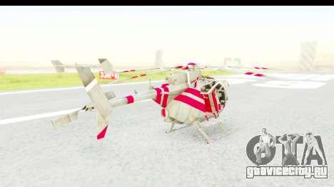 Smaga Sparrow Helis Military Version для GTA San Andreas вид слева