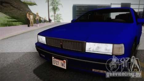 Declasse Premier 1992 IVF для GTA San Andreas вид сзади слева