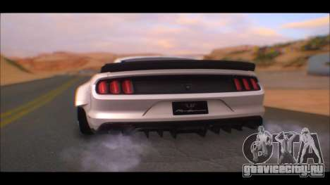 Ford Mustang 2015 Liberty Walk LP Performance для GTA San Andreas вид слева