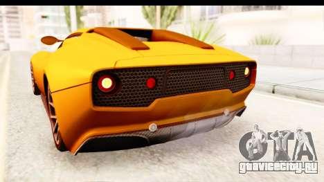 Lucra L148 2016 для GTA San Andreas вид сбоку