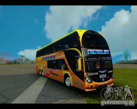 Metalsur Starbus II CRUCERO DEL NORTE для GTA San Andreas
