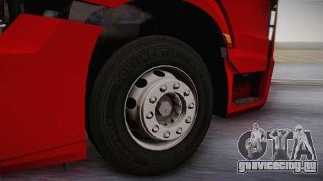 Mercedes-Benz Actros Mp4 6x4 v2.0 Bigspace v2 для GTA San Andreas вид сзади