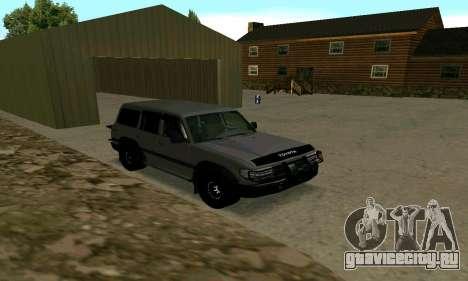 Toyota Land Cruiser 80 для GTA San Andreas вид слева