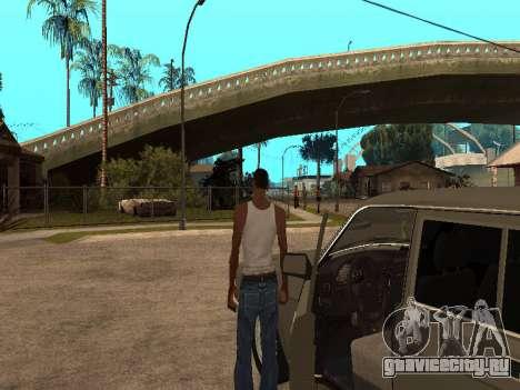 ГАЗ 31022 для GTA San Andreas вид справа