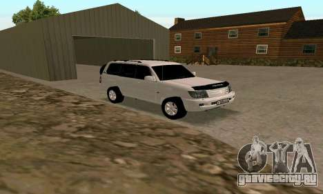 Toyota Land Cruiser 105 для GTA San Andreas вид слева