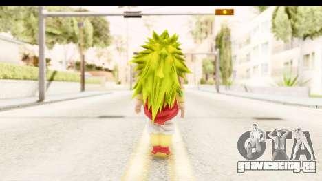 Dragon Ball Xenoverse Broly SSJ3 для GTA San Andreas третий скриншот