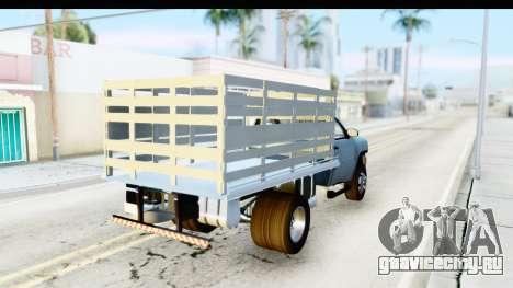 Chevrolet Silverado 2011 для GTA San Andreas вид сзади слева
