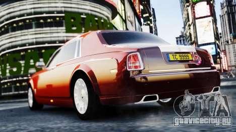 Rolls-Royce Phantom EWB 2013 для GTA 4 вид слева