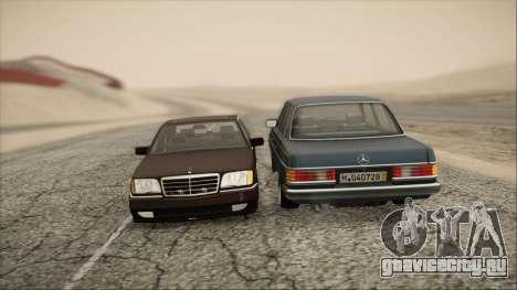 Mercedes-Benz 240D для GTA San Andreas вид справа