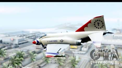 F-4 Phantom II Thunderbirds для GTA San Andreas вид слева