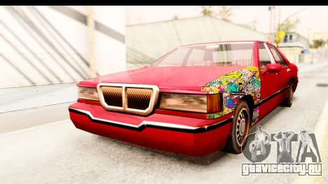Elegant Sticker Bomb для GTA San Andreas вид справа