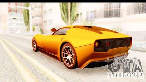 Lucra L148 2016 для GTA San Andreas вид справа