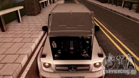 Mercedes-Benz G65 для GTA San Andreas вид сбоку