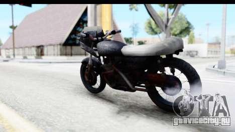 Kawasaki KZ900 1973 Mad Max 2 для GTA San Andreas вид слева