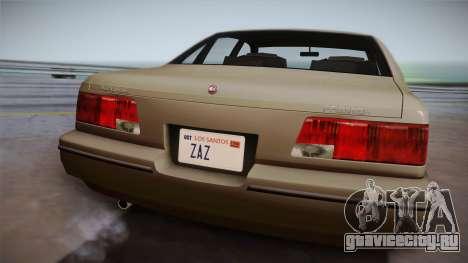 Declasse Premier 1992 SA Style для GTA San Andreas вид справа