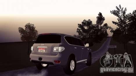 Nissan Patrol для GTA San Andreas вид слева