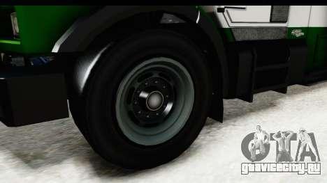 GTA 5 Stockade v2 для GTA San Andreas вид сзади