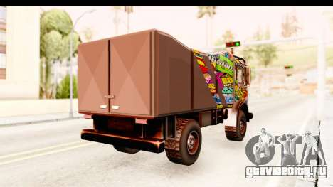 Sticker Bomb Dune для GTA San Andreas вид справа