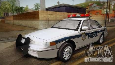 Ford Crown Victoria 1997 El Quebrados Police для GTA San Andreas