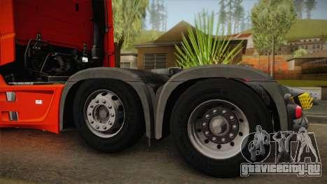 Mercedes-Benz Actros Mp4 6x2 v2.0 Steamspace v2 для GTA San Andreas вид справа