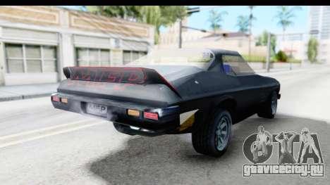 Holden Monaro 1972 Nightrider для GTA San Andreas вид сзади слева