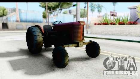 Fireflys Tractor для GTA San Andreas вид справа