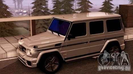 Mercedes-Benz G65 для GTA San Andreas вид справа