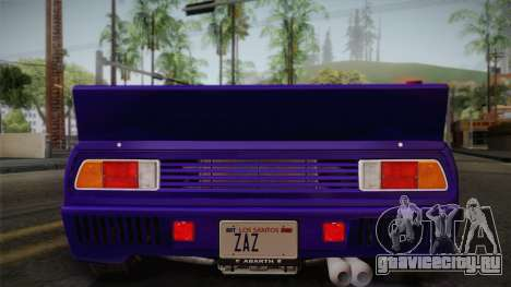 Lancia Rally 037 Stradale (SE037) 1982 IVF Dirt1 для GTA San Andreas