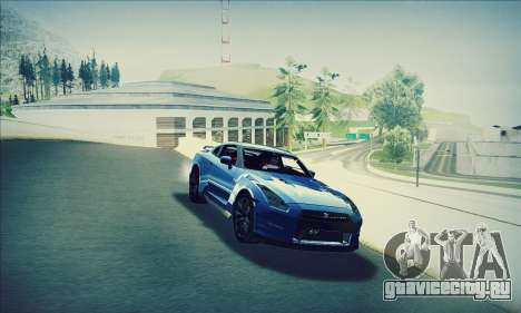 Nissan GT-R R35 Premium для GTA San Andreas