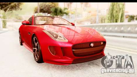 Jaguar F-Type R Coupe 2015 для GTA San Andreas