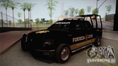 Ford F-150 de la Fuerza Civil de Nuevo Leon для GTA San Andreas