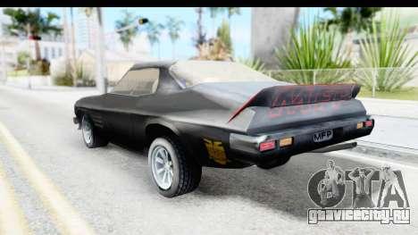Holden Monaro 1972 Nightrider для GTA San Andreas вид слева