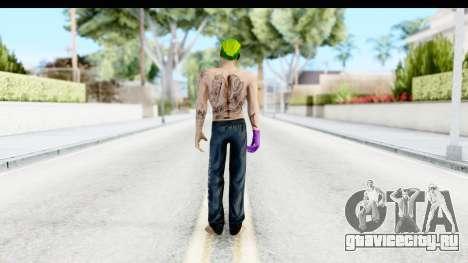 Suicide Squad - Joker v1 для GTA San Andreas третий скриншот