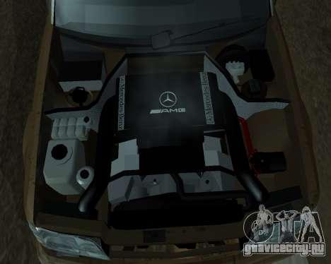 Mersedes-Benz E-500 Armenian для GTA San Andreas двигатель