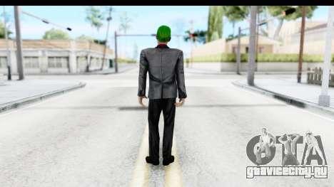 Suicide Squad - Joker v2 для GTA San Andreas третий скриншот