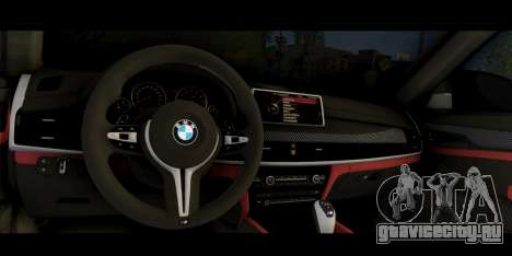 BMW X6M F86 M Performance для GTA San Andreas вид справа