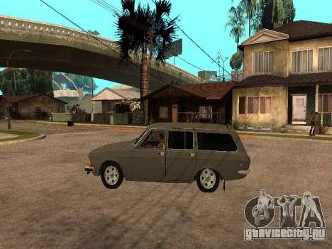 ГАЗ 31022 для GTA San Andreas вид сзади слева