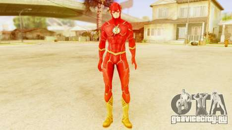 Injustice God Among Us Flash New 52 Edited Model для GTA San Andreas второй скриншот