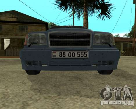 Mersedes-Benz E-500 Armenian для GTA San Andreas салон