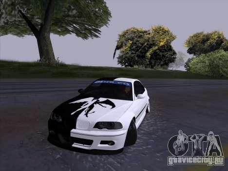 BMW E46 Good and Evil для GTA San Andreas