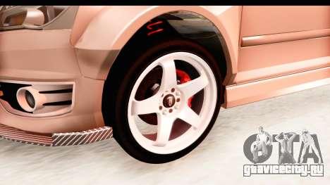 Audi S3 Slaam для GTA San Andreas вид сзади