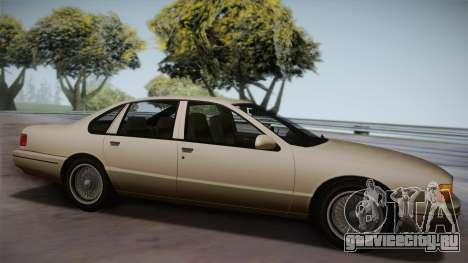 Declasse Premier 1992 SA Style для GTA San Andreas вид слева