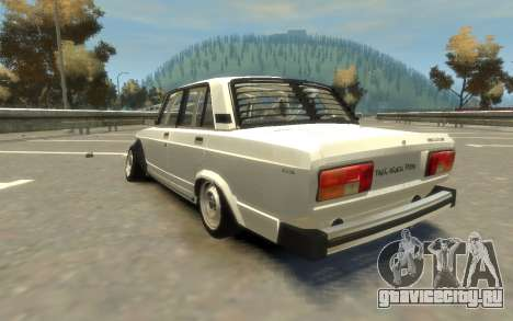 VAZ 2105 Drift (Paul Black prod.) для GTA 4 вид слева