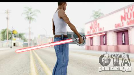 Inquisitor Lightsaber v1 для GTA San Andreas третий скриншот