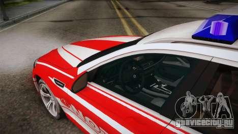 BMW M5 Touring NEF для GTA San Andreas вид изнутри